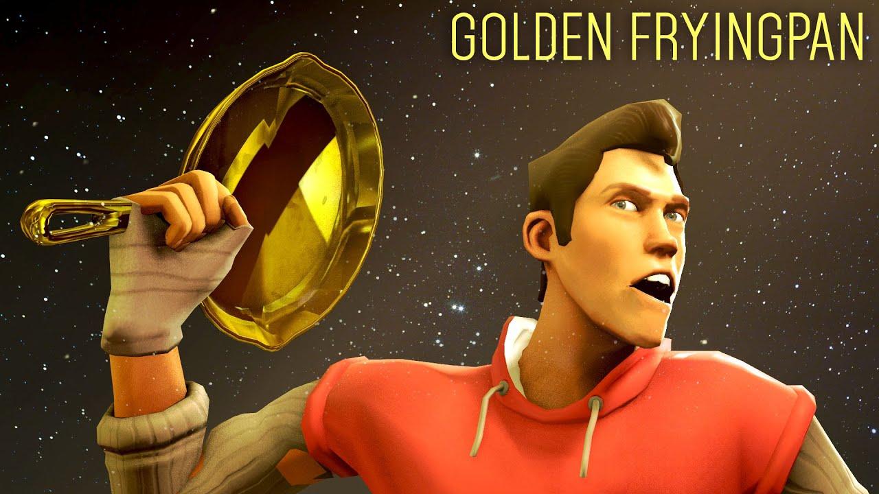 Tf2 Item Showcase The Golden Frying Pan Gameplay Youtube