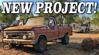 BUYING AN ABANDONED PROJECT WITH A SPECIAL SUPRISE!!!