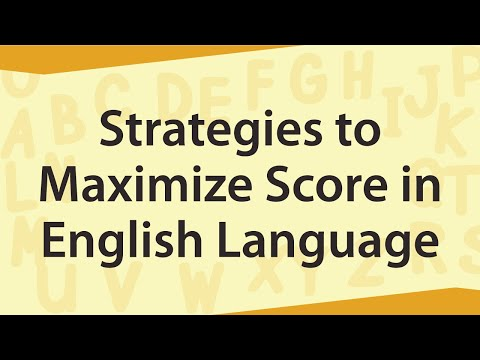 Strategies to Maximize Score in English Language || Banking Careers