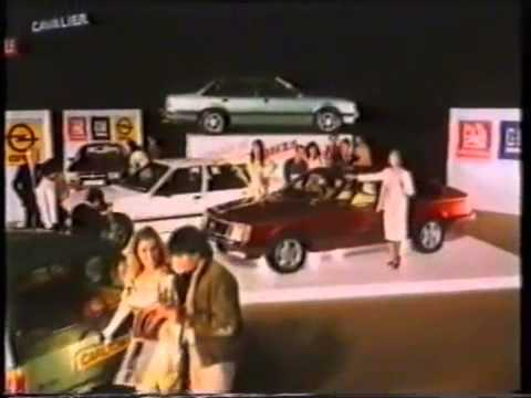 The General Motors Vauxhall-Opel Motor Show Advert 1981