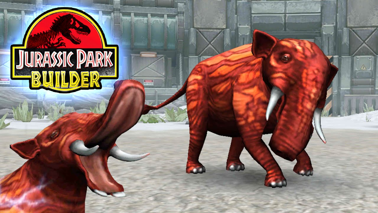 Jurassic Park Builder: GLACIER Tournament: SAUSAGE FACE ...