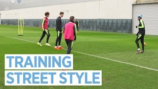 STREET FOOTBALL STYLE TRAINING | WALLIE