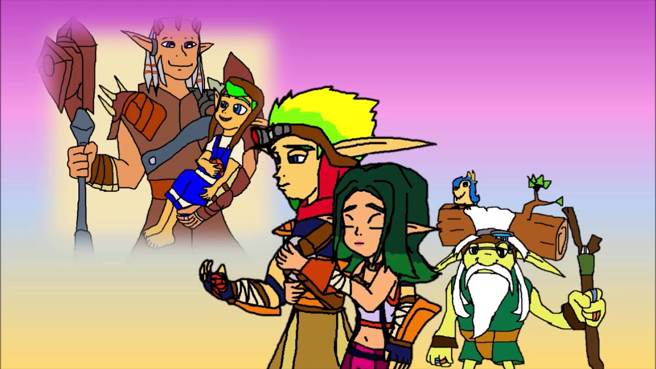 Jak S Sad Memories Of Damas Father And Son With Keira And Samos Fanart Youtube