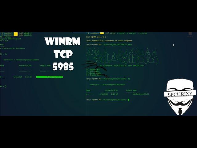 Старый добрый WinRM или Behind Closed Doors