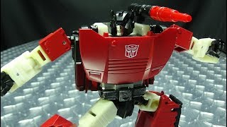 Siege Deluxe SIDESWIPE: EmGo's Transformers Reviews N' Stuff