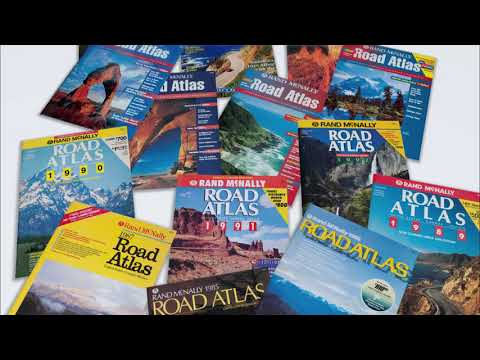 American Journey: A Treasury of Rand McNally Road Atlas Covers