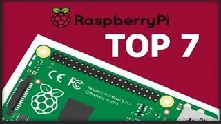 Top 7 projetos com Raspberry Pi