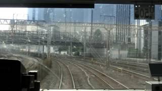 東海道(品鶴)線快速アクティー 東京→横浜前面展望