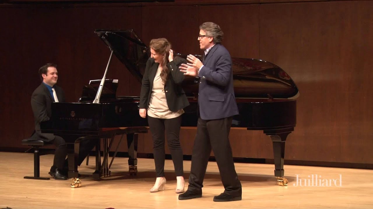 Thomas Hampson Master Class, January 28, 2015: Ewa Płonka & Joel Harder