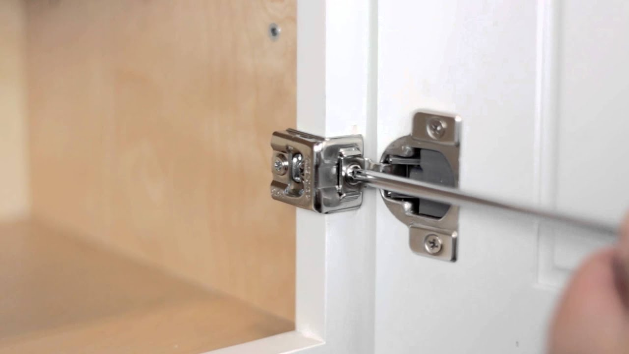 Adjusting Kitchens by Foremost Soft Close Door Hinges & Adjusting Kitchens by Foremost Soft Close Door Hinges - YouTube