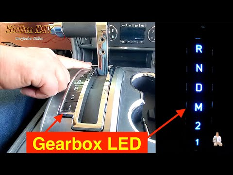 How To Replace | Upgrade HUMMER H2 Gearbox Light to LED Light Bulbs | H2 LED Upgrade