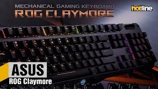 ASUS ROG Claymore — обзор игровой механической клавиатуры
