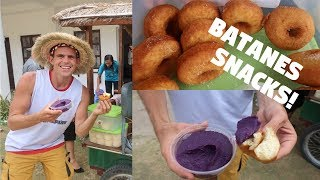 LOCAL FILIPINO DONUTS AND UNIQUE PURPLE FOOD   BECOMINGFILIPINO BATANES
