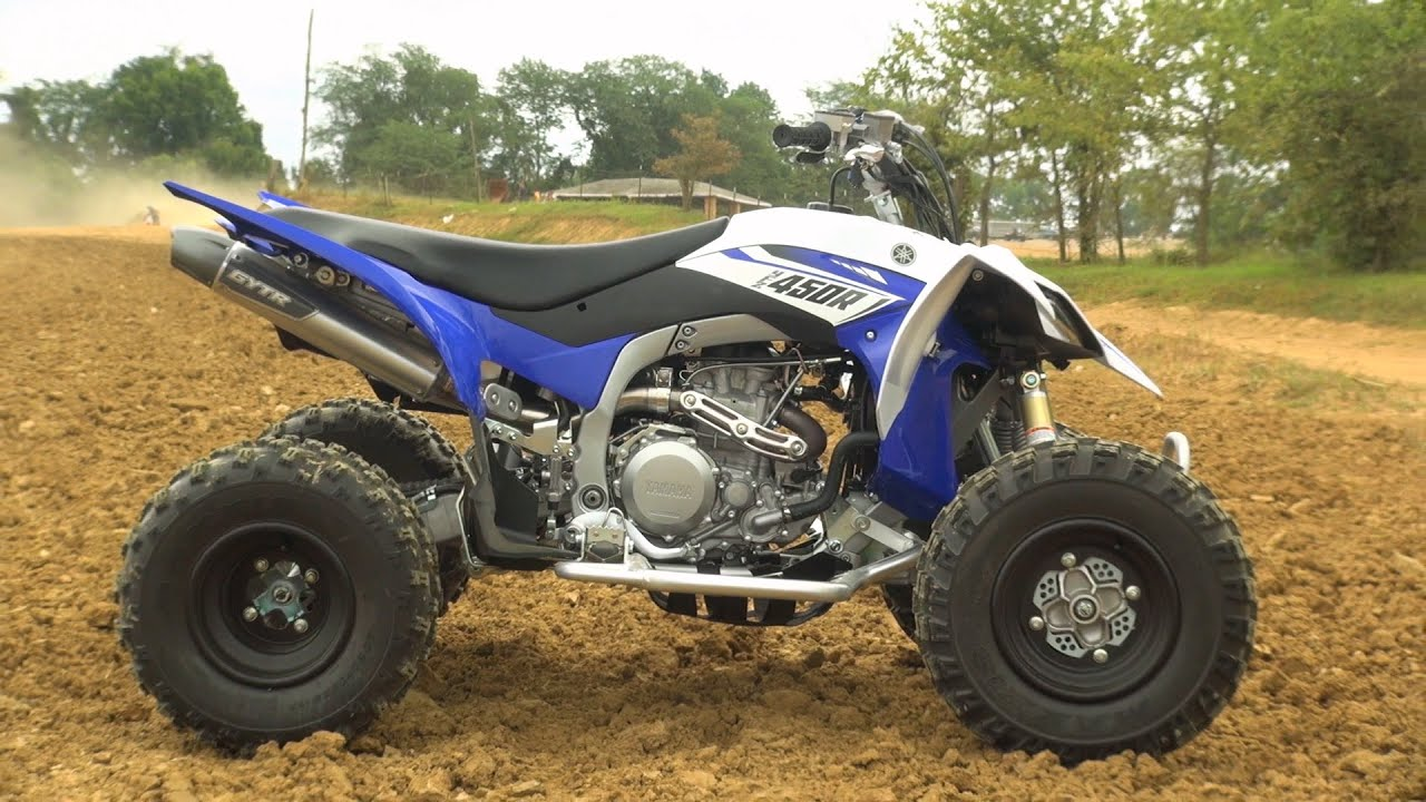 Yamaha YFZ450R GYTR Budget MX Racer Project Test: with VIDEO