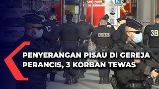 Aksi Penyerangan Pisau Di Gereja Perancis, 3 Korban Tewas