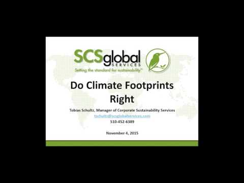 Measure, Reduce, and Disclose Your Carbon Footprint (Webinar)