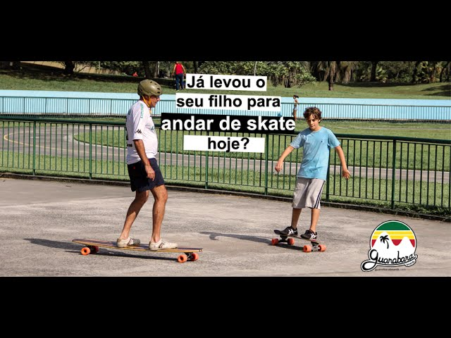 Especial dia dos pais BusTv SA  [ Aula de Long Aula de Skate Longboard ]