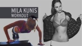 The Mila Kunis Workout