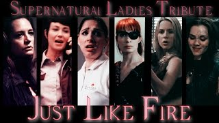 Supernatural Ladies Tribute - Just like Fire (Video/Song Request)