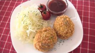Japanese Korokke (croquette) コロッケの作り方 - Ochikeron - Create Eat Happy