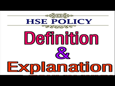 What Is Safety Policy, What Is Safety Policy And Procedures, What Is Hse Policy, Safety Video, Safet