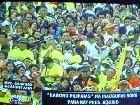 InauguratiOn sOng f0r Pres. Benigno Aquino III