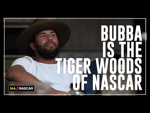 Bubba Wallace: The Tiger Woods of NASCAR | I AM ATHLETE with Brandon Marshall, Chad Johnson & More