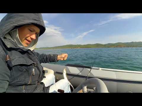 Рыбалка Владивосток, ловля большого минтая с лодки