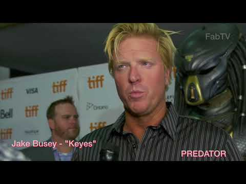 Jake Busey at the PREDATOR premiere
