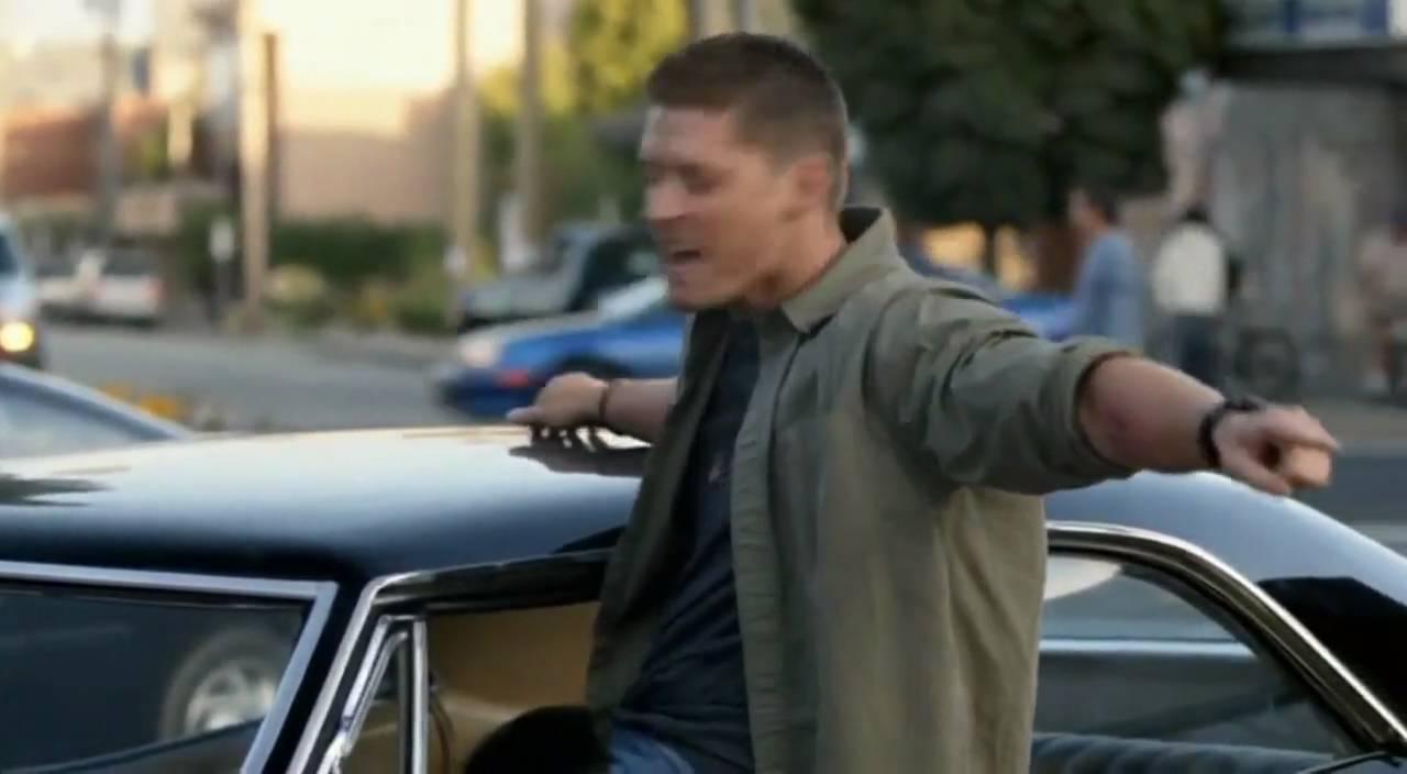 Jensen Ackles Outtake Eye The Tiger HD