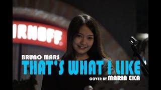 Gambar cover 🔴 THAT'S WHAT I LIKE - BRUNO MARS COVER BY MIRRIAM EKA