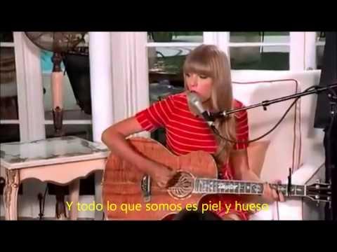 Taylor Swift - Treacherous LIVE subtitulado en español