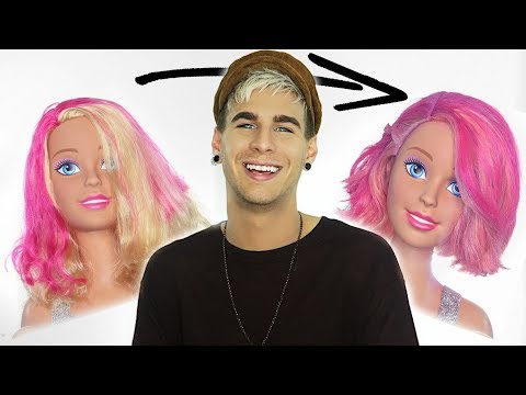 HAIRDRESSER GIVES BARBIE AN EXTREME MAKEOVER | bradmondo
