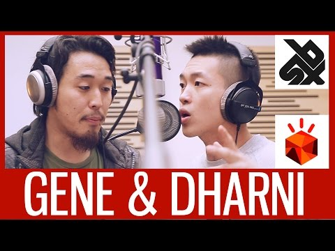 GENE & DHARNI | Grand Beatbox Battle Studio Session