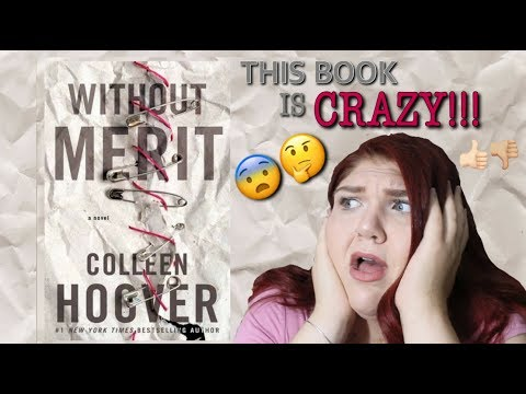 WITHOUT MERIT BY COLLEEN HOOVER DISCUSSION + SIGNED COPY GIVEAWAY!!!!