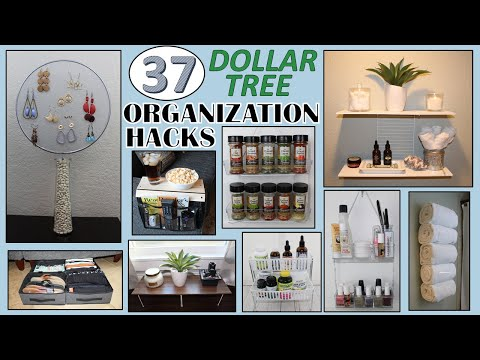 37-dollar-store-organization-hacks-|-dollar-tree-diy-|-organization-ideas