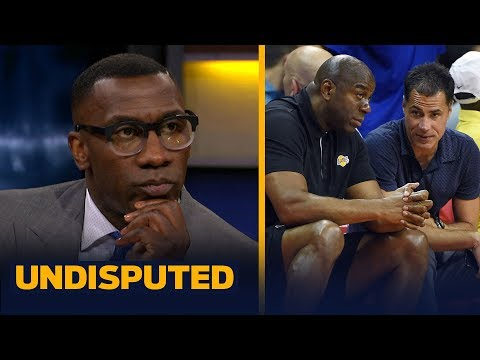 Shannon Sharpe thinks Rob Pelinka's power will elevate after Magic's departure | NBA | UNDISPUTED