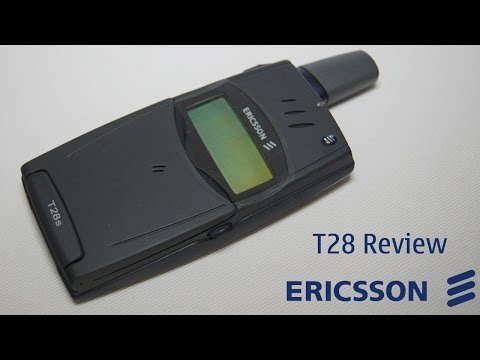 Phone Nostalgia Episode 1: Ericsson T28 Review