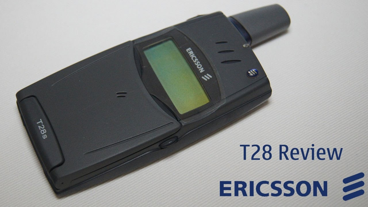 phone nostalgia episode 1 ericsson t28 review youtube