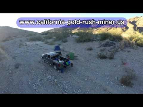 California prospectors drone