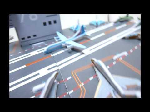 Excelente Rompecabezas 3D Modelo Avión