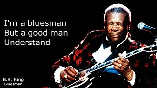 B.B. King - Blues Man (Lyrics)