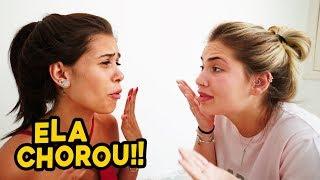 CONTEI UM SEGREDO NESSE VIDEO E ELA CHOROU!!!