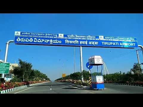 Tirupati Flight Journey