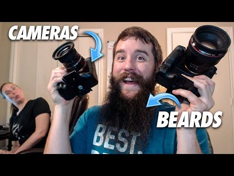 Filmmaking & Beards Q&A! Camera & Facial Hair Tips 🎥 LIVE STREAM 2-27-2018