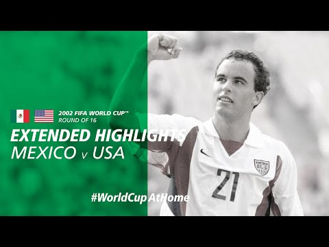 #WorldCupAtHome | Mexico 0-2 USA [Extended Highlights] | 2002 FIFA World Cup™