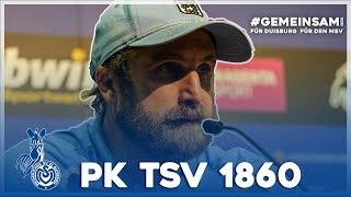 Lieberknecht zieht seinen Hut   PK nach 1860 München   #MSVM60 - ZebraTV   21.09.2019