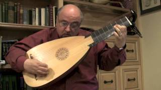 Gigue in A Minor by Count Bergen for Baroque Lute