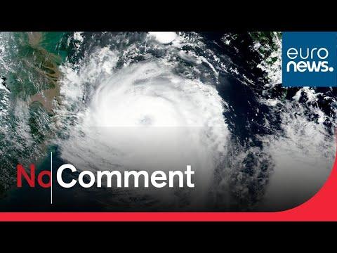 Le typhon Bavi