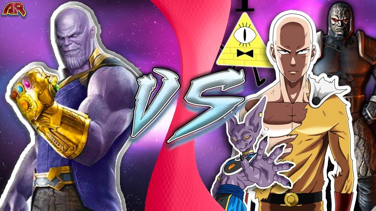 Goku Vs Thanos: INFINITY THANOS Vs FICTION! (Thanos Vs Saitama, Thanos Vs